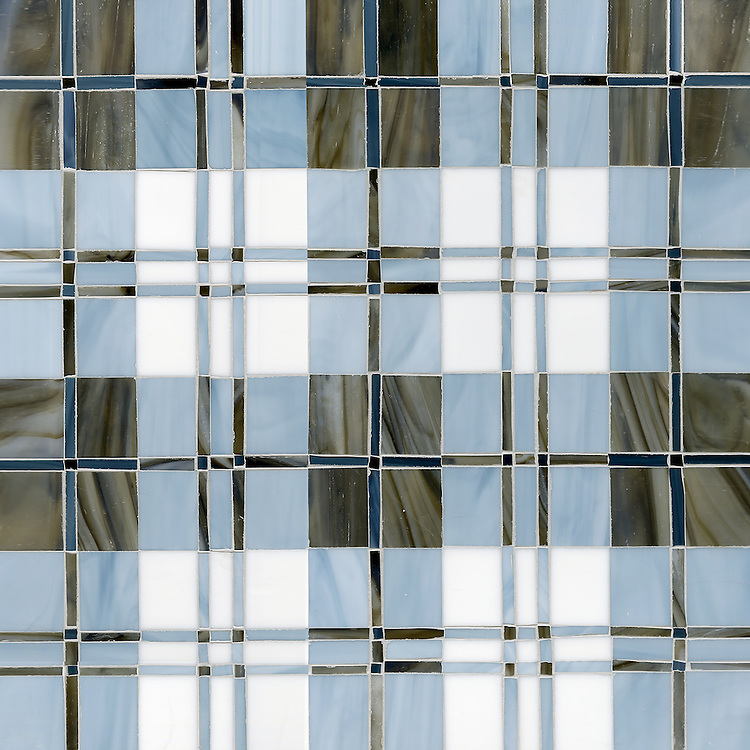 Hamish, a jewel glass mosaic field shown in Lavastone, Pearl, Moonstone and Marcasite.