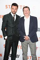Dominic Cooper &amp; director Simon West at the &quot;Stratton&quot; premiere, Vue West End, Leicester Square, London, UK. <br /> 29 August  2017<br /> Picture: Steve Vas/Featureflash/SilverHub 0208 004 5359 sales@silverhubmedia.com