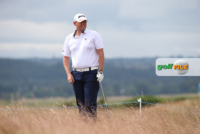 Jamie McLeary (SCO) during Round Three of the 2016 Aberdeen Asset Management Scottish Open, played at Castle Stuart Golf Club, Inverness, Scotland. 09/07/2016. Picture: David Lloyd | Golffile.<br /> <br /> All photos usage must carry mandatory copyright credit (&copy; Golffile | David Lloyd)