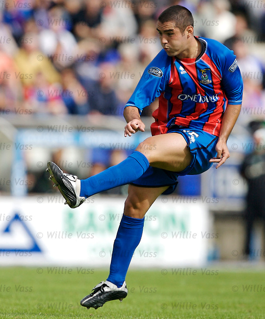 Liam Keogh, Inverness Caledonian Thistle.stock season 2006-2007.pic willie vass