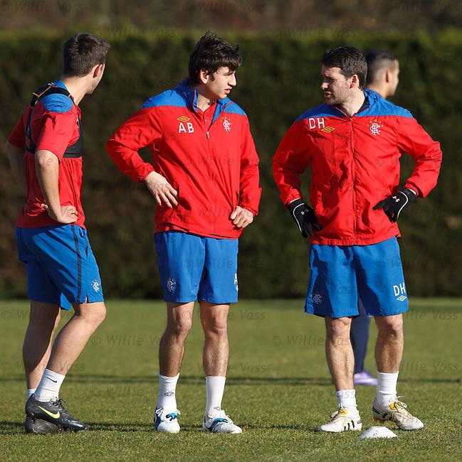Chris Hegarty, Alejandro Bedoya and David Healy