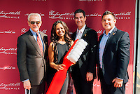Jonathan Siegel, Nick Lara, Steve Shandobil, Members of the Beverly Hills Chamber of Commerce, at Unforgettable Smile Ribbon Cutting Ceremony on Oct. 22, 2014 (Photo by Tiffany Chien/Guest Of A Guest)