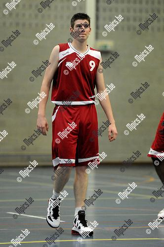 2011-09-27 / Basketbal / seizoen 2011-2012 / BBC Kontich / Pieter Van der Vloet ..Foto: Mpics