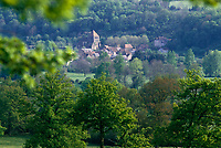 Europe/France/Limousin/23/Creuse/Moutier-d'Ahun : Le village