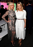 BEVERLY HILLS - AUGUST 7: Tori Spelling and Jennie Garth attend the FOX 2019 Summer TCA All-Star Party on New York Street on the FOX Studios lot on August 7, 2019 in Los Angeles, California. (Photo by Vince Bucci/FOX/PictureGroup)