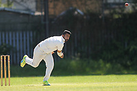 S Khan of Barking during Newham CC vs Barking CC, Essex County League Cricket at Flanders Playing Fields on 10th June 2017