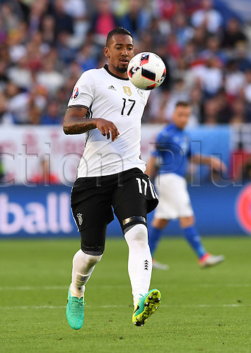 02.07.2016. Bordeaux, France. 2016 European football championships. Quarterfinals match. Germany versus Italy.  Jerome Boateng (Ger)