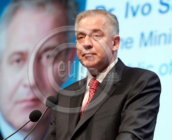 BRUSSELS - BELGIUM - 15 MARCH 2007 -- 5th European Business Summit. -- Solemn Opening Session,  Dr. Ivo SANDER, Prime Minister of Croatia. -- PHOTO: JUHA ROININEN / EUP-IMAGES