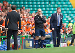 St Johnstone v Dundee United....17.05.14   William Hill Scottish Cup Final<br /> Tommy Wright shouts instructions<br /> Picture by Graeme Hart.<br /> Copyright Perthshire Picture Agency<br /> Tel: 01738 623350  Mobile: 07990 594431
