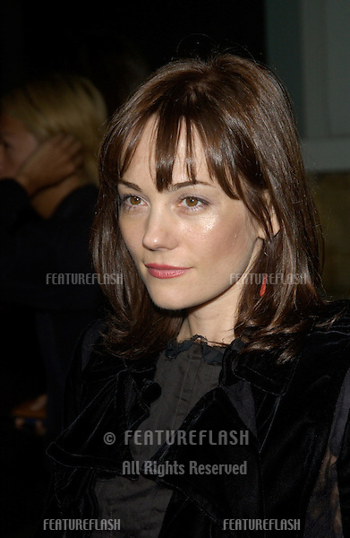 Actress NATASHA GREGSON WAGNER at the Los Angeles premiere of her new movie Wonderland..Sept 24, 2003