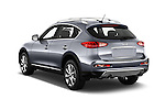 Car pictures of rear three quarter view of 2017 Infiniti QX50 - 5 Door Suv Angular Rear