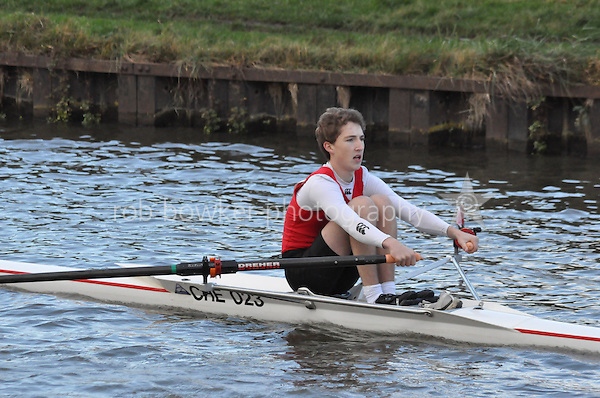 149 CHE Cheltenham. Wycliffe Small Boats Head 2011. Saturday 3 December 2011. c. 2500m on the Gloucester Berkeley Canal