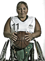 Kylie Gauci (AUS)<br /> Paralympic Portraits -  Basketballer<br /> Sydney Australia 2012<br /> London 2012 Paralympic Games<br /> &copy; Sport the library / Jeff Crow