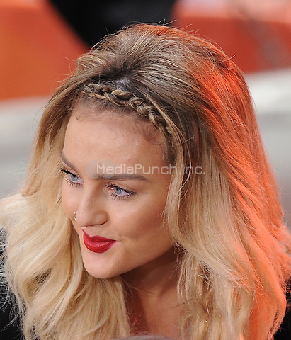 New York,NY-June 17: Perrie Edwards at the  Today Show in New York City on June 17, 2014. ©Credit: John Palmer/MediaPunch.