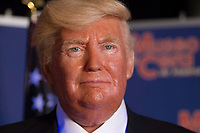 Madrid Wax Museum presents the Melania Trump's wax figure in Madrid on July 20, 2017.<br /> The wax figure of the President of the USA, Donald Trump