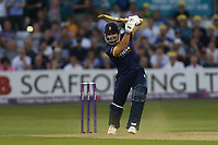 Ryan ten Doeschate hits four runs for Essex during Essex Eagles vs Surrey, NatWest T20 Blast Cricket at The Cloudfm County Ground on 7th July 2017