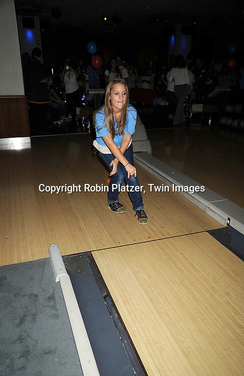 """Kristen Alderson ..at The Fifth Annual """"Daytime Stars and Strikes"""" for The American Cancer Society on September 28, 2008 at The Port Authority Bowling Alley. Jerry verDorn and Liz Keifer were the hosts. ....Robin Platzer, Twin Images"""