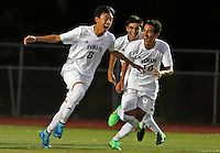 Northern Highlands vs Ramapo boys Soccer - 091715
