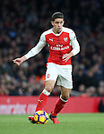 Arsenal's Gabriel in action during the Premier League match at the Emirates Stadium, London. Picture date October 26th, 2016 Pic David Klein/Sportimage