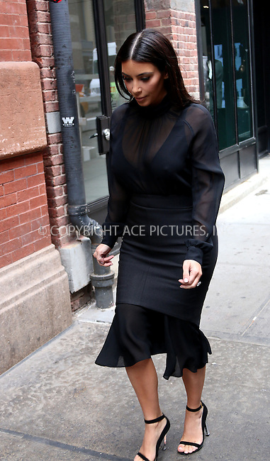 WWW.ACEPIXS.COM<br /> <br /> May 6 2014, New York City<br /> <br /> Kim Kardashian walks in Soho on May 6 2014 in New York City<br /> <br /> By Line: Zelig Shaul/ACE Pictures<br /> <br /> <br /> ACE Pictures, Inc.<br /> tel: 646 769 0430<br /> Email: info@acepixs.com<br /> www.acepixs.com