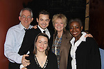 "As The World Turns' Ellen Dolan participated in The WorkShop Theatre ""Sundays at Six"" as it presents ""The Necessary Disposal"" on December 5, 2010 at the WorkShop Theatre in New York City. Ellen starred as ""Ruth Middleton"" and who poses with the cast L to R: James Leach, Will Vought, Melissa E. Carroll, and Marjorie Johnson. (Photo by Sue Coflin/Max Photos)"