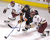 Brock Bradford, Grant Goeckner-Zoeller, Benn Ferreiro - Boston College defeated Princeton University 5-1 on Saturday, December 31, 2005 at Magness Arena in Denver, Colorado to win the Denver Cup.  It was the first meeting between the two teams since the Hockey East conference began play.