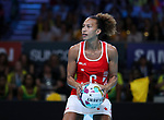 29/10/17 Fast5 2017<br /> Fast 5 Netball World Series<br /> Hisense Arena Melbourne<br /> Grand Final Jamaica v England<br /> <br /> Serena Guthrie<br /> <br /> <br /> <br /> <br /> Photo: Grant Treeby