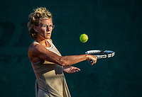 Hilversum, The Netherlands,  August 23, 2019,  Tulip Tennis Center, NSK, Marjolein de Lange-Oudegeest (NED)<br /> Photo: Tennisimages/Henk Koster