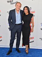 Salma Hayek &amp; Francois-Henri Pinault at the 2018 Film Independent Spirit Awards on the beach in Santa Monica, USA 03 March 2018<br /> Picture: Paul Smith/Featureflash/SilverHub 0208 004 5359 sales@silverhubmedia.com