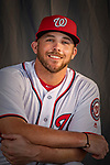 22 February 2019: Washington Nationals infielder Jacob Wilson poses for his Photo Day portrait at the Ballpark of the Palm Beaches in West Palm Beach, Florida. Mandatory Credit: Ed Wolfstein Photo *** RAW (NEF) Image File Available ***