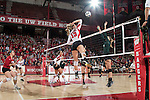 2015 NCAA Volleyball: Michigan State at Wisconsin