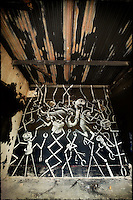 Painting by artist Phlegm in abandoned building in Sheffield, South Yorkshire http://www.vivecakohphotography.co.uk/2011/08/04/more-phelgm-in-sheffield/