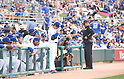 Kenta Maeda (Dodgers),<br /> MARCH 5, 2016 - MLB :<br /> Kenta Maeda of the Los Angeles Dodgers heads out to the field from the dugout before the second inning during a spring training baseball game against the Arizona Diamondbacks at Camelback Ranch-Glendale in Phoenix, Arizona, United States. (Photo by AFLO)