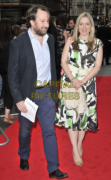 LONDON, ENGLAND - JUNE 09: David Mitchell &amp; Victoria Coren Mitchell attend the &quot;NOW: In The Wings On A World Stage&quot; UK film premiere, Empire cinema, Leicester Square, on Monday June 09, 2014 in London, England, UK.<br /> CAP/CAN<br /> &copy;Can Nguyen/Capital Pictures