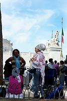 Roma, 4 Settembre 2017<br /> La Polizia ha sgomberato il presidio dei rifugiati in Piazza Venezia, dove avevano allestito un accampamento con tende dopo lo sgombero violento di Piazza Indipendenza