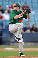 "Miami Hurricanes Sam Robinson #13 during a game vs. the University of South Florida Bulls in the ""Florida Four"" at George M. Steinbrenner Field in Tampa, Florida;  March 1, 2011.  USF defeated Miami 4-2.  Photo By Mike Janes/Four Seam Images"