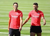 Branimir Hrgota (Eintracht Frankfurt) und Danny Blum (Eintracht Frankfurt) - 24.07.2018: Eintracht Frankfurt Training, Commerzbank Arena