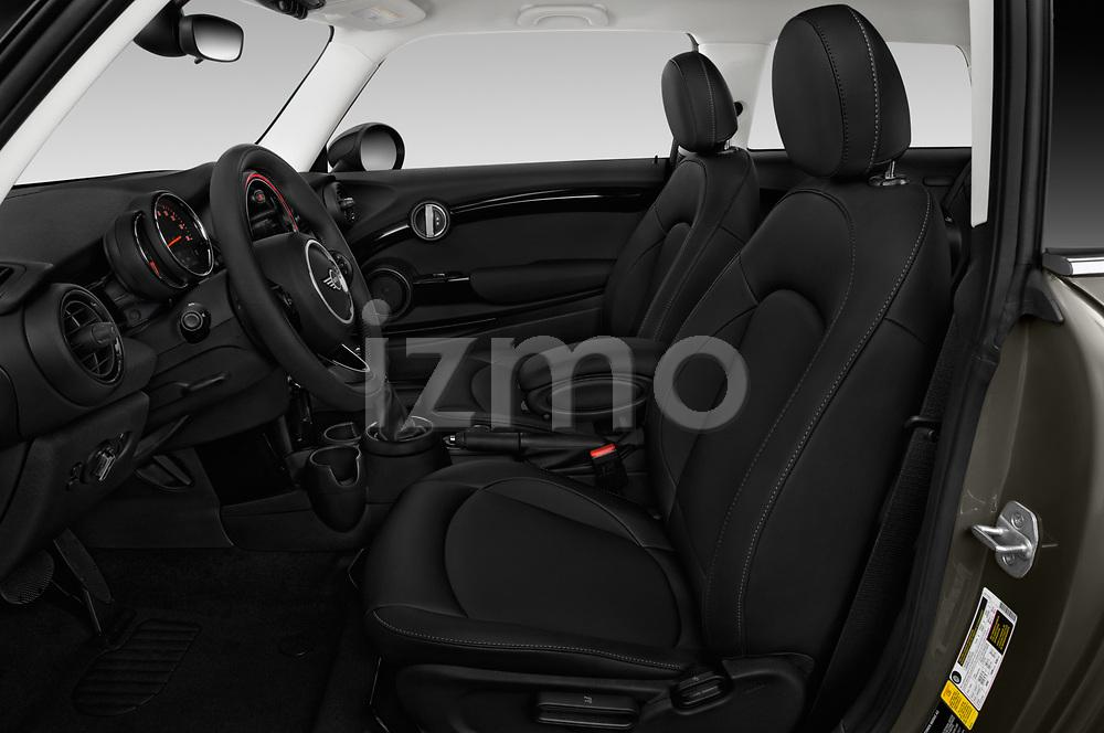 Front seat view of a 2019 Mini Cooper Hardtop 2 Door 3 Door Hatchback front seat car photos