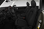 Front seat view of a 2019 Mini Cooper Hardtop 2 Door 3 Door Hatchback front seat car photos