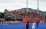 Full stands during the Pro League Hockey match between the Blacksticks men and the Argentina, Nga Punawai, Christchurch, New Zealand, Friday 28 February 2020. Photo: Simon Watts/www.bwmedia.co.nz