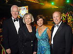 John Cornyn and his wife Sandy with Lori and Dan Wolterman at the Memorial Hermann Gala at the Hilton Americas Houston Saturday May 09,2009.(Dave Rossman/For the Chronicle)