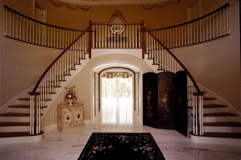 Elegant Foyer With Grand Staircase
