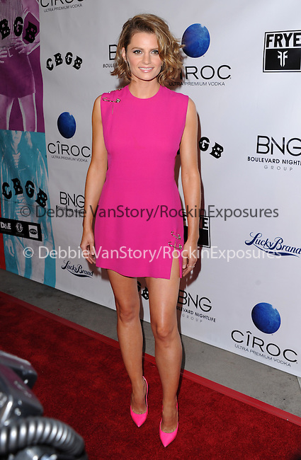Stana Katic The West Coast Screening of CBGB held at The Arclight  in Hollywood, California on October 01,2013                                                                   Copyright 2013 Hollywood Press Agency