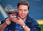 Ally McCoist of Rangers is Bells Player of the Month, March 1998