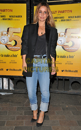 """Louise Redknapp at the """"9 To 5 The Musical"""" theatre cast stage door departures, Savoy Theatre, The Strand, London, England, UK, on Friday 31st May 2019.<br /> CAP/CAN<br /> ©CAN/Capital Pictures"""