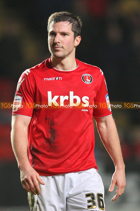Yann Kermorgant of Charlton Athletic - Charlton Athletic vs MK Dons - nPower League One Football at The Valley, London - 14/02/12 - MANDATORY CREDIT: Gavin Ellis/TGSPHOTO - Self billing applies where appropriate - 0845 094 6026 - contact@tgsphoto.co.uk - NO UNPAID USE.