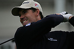 Padraig Harrington tees off on the opening hole during the 3rd round of the BMW PGA Championship at Wentworth Club, Surrey, England 26th may 2007 (Photo by Eoin Clarke/NEWSFILE)