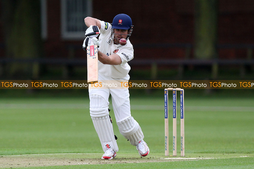 Alastair Cook of Essex and England in batting action - Cambridge MCCU vs Essex CCC - Pre-Season Friendly Cricket Match at Fenners Ground, Cambridge - 07/04/14 - MANDATORY CREDIT: Gavin Ellis/TGSPHOTO - Self billing applies where appropriate - 0845 094 6026 - contact@tgsphoto.co.uk - NO UNPAID USE