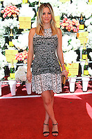 PACIFIC PALISADES, CA - OCTOBER 05: Actress Kaley Cuoco arrives at the 4th Annual Veuve Clicquot Polo Classic held at Will Rogers Polo Grounds on October 5, 2013 in Pacific Palisades, California. (Photo by Xavier Collin/Celebrity Monitor)