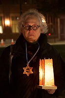 Candlelight Vigils in MA for Victims of Pittsburgh Synagogue Shooting 10.30.18